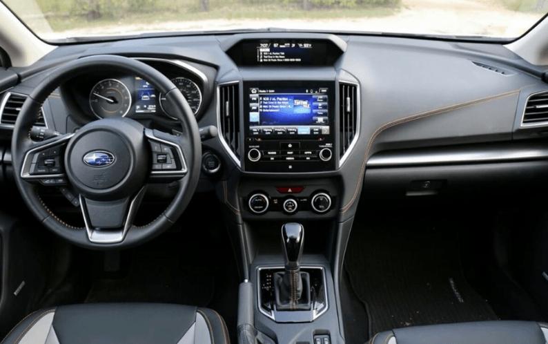 2020 Subaru Crosstrek AWD Interior