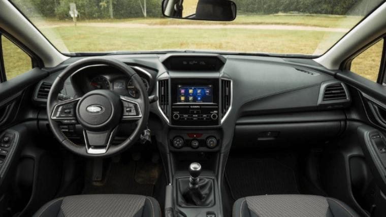 2020 Subaru Crosstrek Cool Gray Khaki Interior