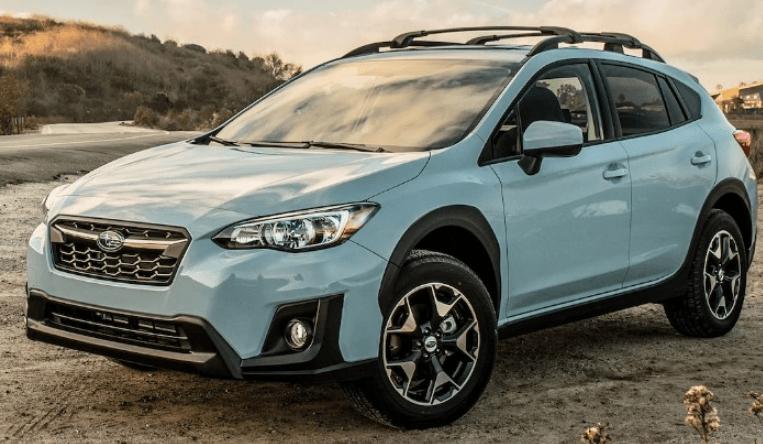 2020 Subaru Crosstrek Cool Gray Khaki