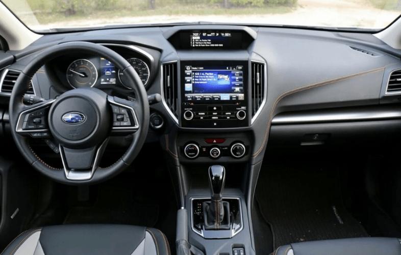 2020 Subaru Crosstrek Dark Gray Interior