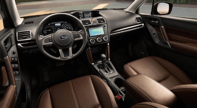 2020 Subaru Crosstrek Dark Grey Metallic Interior