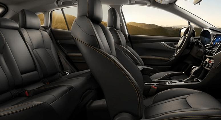 2020 Subaru Crosstrek Lifted interior