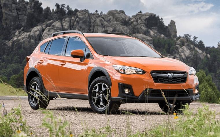 2020 Subaru Crosstrek Lifted