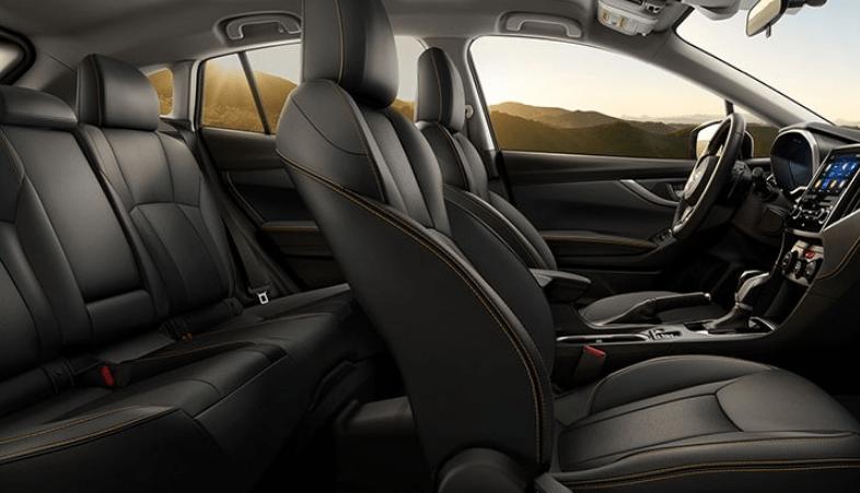 2020 Subaru Crosstrek Red Interior