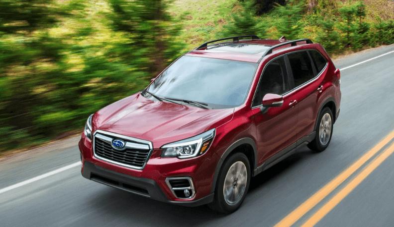 2020 Subaru Crosstrek Red