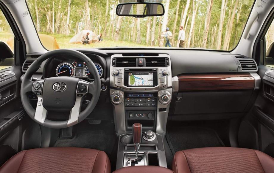 2020 Toyota 4Runner TRD Off Road interior