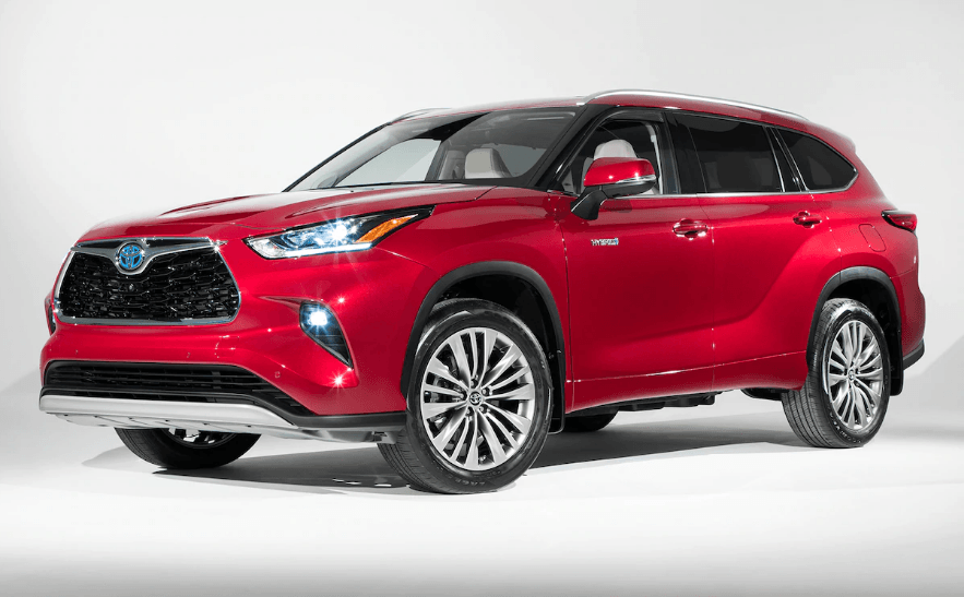 2021 toyota highlander limited colors, release date