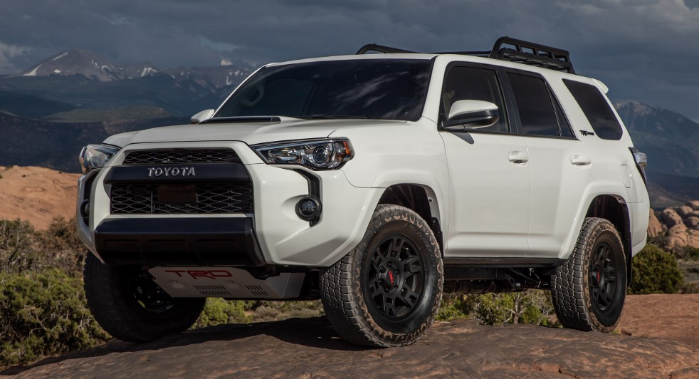 2020 Toyota 4Runner colors