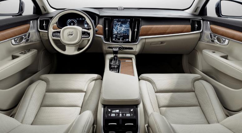 2020 Volvo S90 T8 Interior